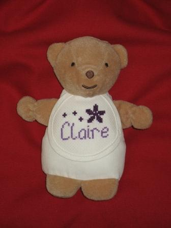 Claire's bear