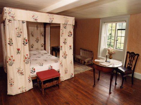 Gilbert White's bedroom
