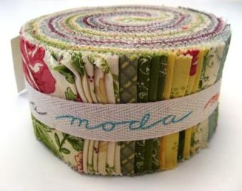 The Field Notes Jelly Roll by Blackbird Designs for Moda: scrummy!