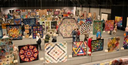 A view of part of the OEQC exhibition floor