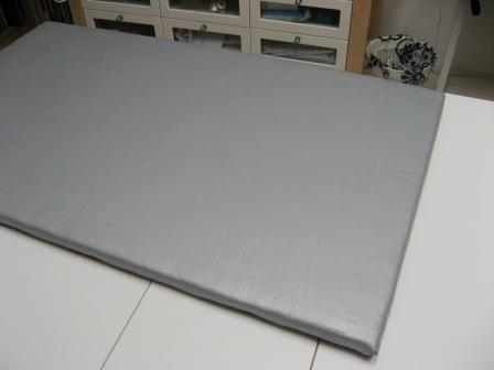 The completed padded pressing board