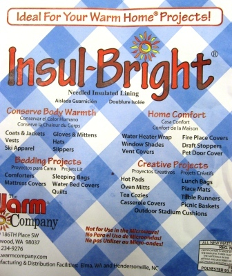 Insul-bright, manufactured by the Warm Company
