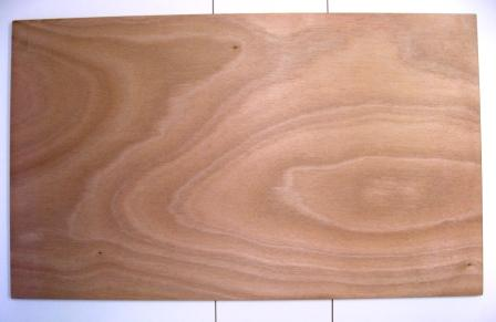 The marine ply, ready for padding