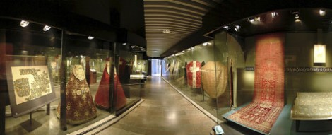 The Textile Chamber at the National Historical Museum in Stockholm.