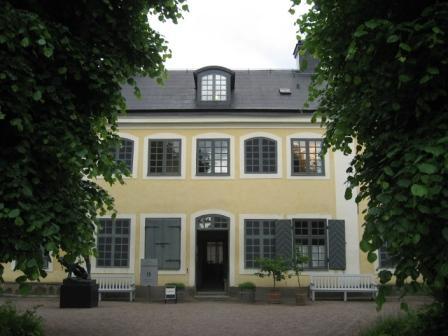 Linnaeus's house at Uppsala.
