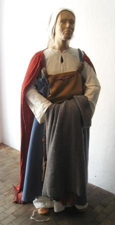 Viking woman in Ribe.
