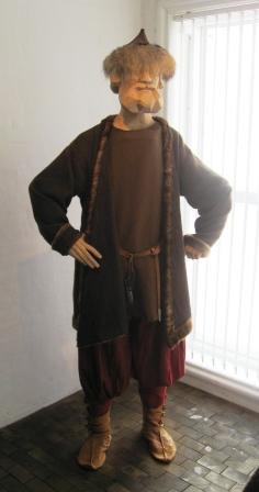 Viking man in Ribe.