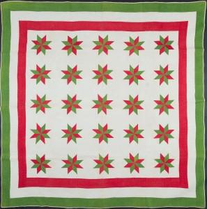 Puritan Star Quilt. c. 1890