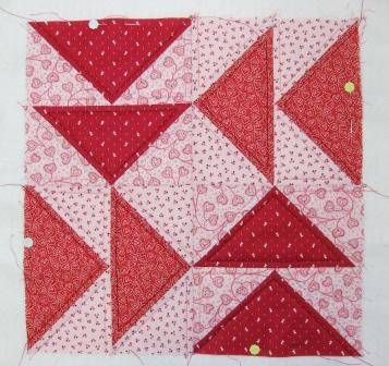 Echo quilted geese