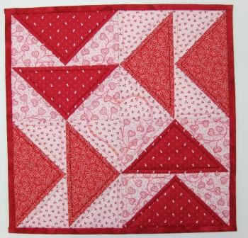 The quilt front