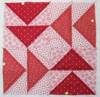 Adding 'heart' to the quilt