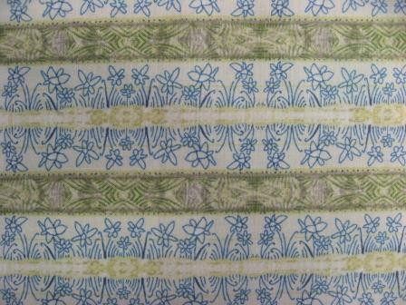The stripey daffodil fabric that arrived by chance