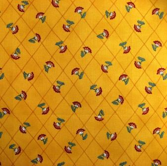 The Indienne style quilt backing fabric.