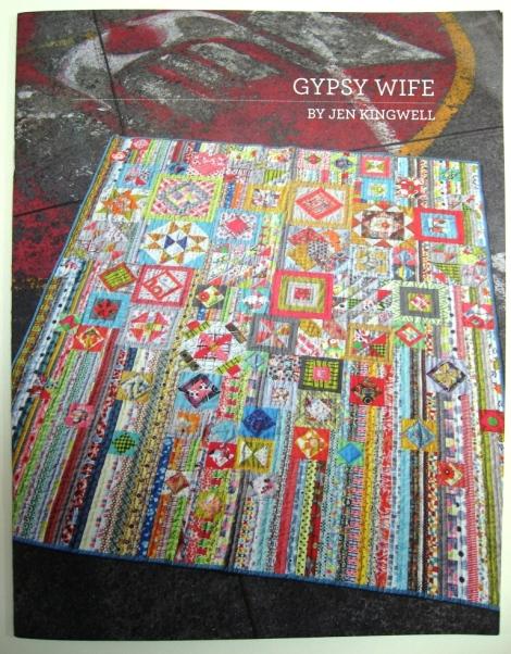 The Gypsy Wife pattern instruction booklet by Jen Kingwell.