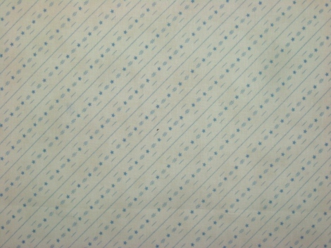 The backing fabric.
