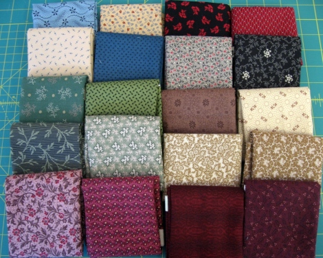 A couple of fat quarters from Den Haan & Wagenmakers...